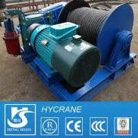 China Wireless Remote Control Crane Electric Winch for Lifting and Pulling wholesale