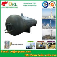 China Metallurgical Industry Mud Drum Fire Tube For Condensing Gas Boiler wholesale
