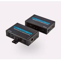 China 1080P 3D HDMI Signal Extender With IR 100M Over Single Cat5e / Cat6 on sale