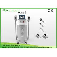 China 5 cryo handles cryolipolysis cavitation rf slimming machine cool tech shape fat freezing lipo machine wholesale