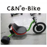 China Electric Motor Three Wheel Drift Trike Big Front Wheel For Kids / Adults wholesale