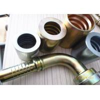 China Brass / Steel BSP Pipe Fittings JIS GAS Female 60° Cone Seat For Hose on sale