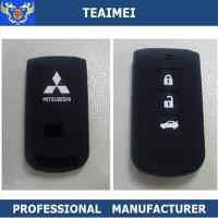 China Custom Durable Mitsubishi Car Key Protector Cover With 3 Buttons wholesale