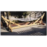 China Big Size Wooden Hanging Hammock Chair on sale