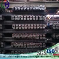 China Construction Materials Light Steel Rail 92mm Botton Width For Temporary Transport Line wholesale