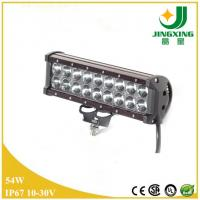 China Excellent 9-32v 9 inch 4200lum cree 54w atv led light bar on sale