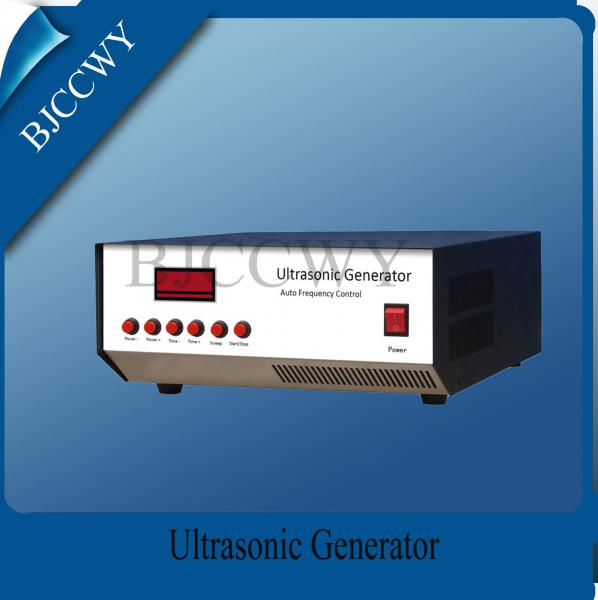Quality Low Frequency Digital Ultrasonic Generator 20 - 40KHZ 1200W Ultrasonic Power Generator for sale
