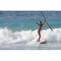 China Portable Sport Equipment Inflatable Standing Paddle Board , Inflatable Race Sup wholesale