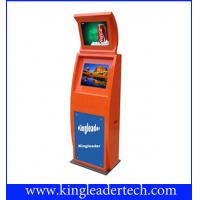 Extra Slim Dual Anti-Glare Outdoor Touch Screen Kiosk TSK9003-2D-L