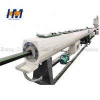 China Servo Motor Plastic Pipe Extrusion Line Green Environmental Protection wholesale