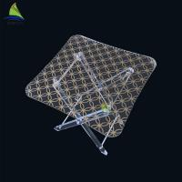 Buy cheap Office Custom Acrylic FurnitureClear Acrylic Mirrored Exotic Coffee Table from wholesalers