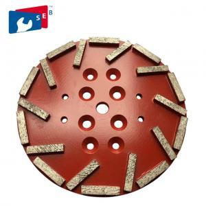 China 115mm Swirly Shape Diamond Cup Wheel Apply To Stone Grinding Machine wholesale