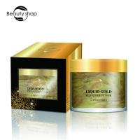 China Disposable Natural Skin Care Face Mask , 24k Gold Collagen Face Mask wholesale