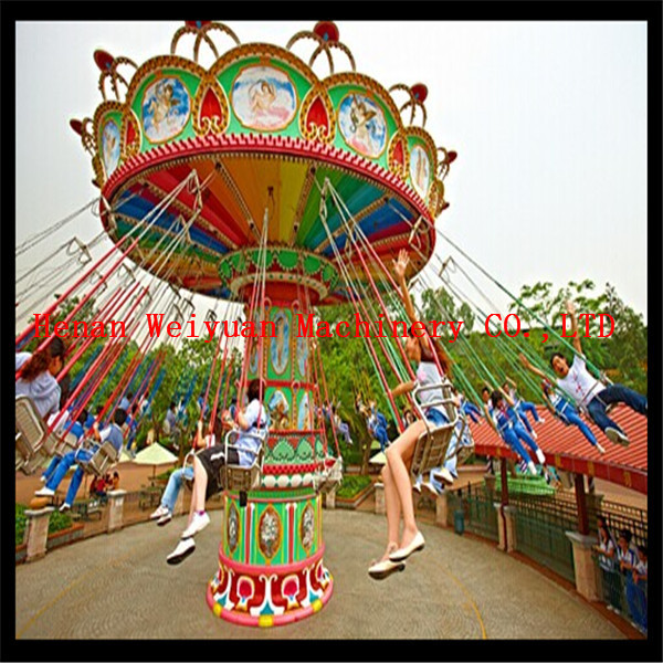 Quality On sale rides amsuement park 16 Seats Up And Down Flying Chair for sale