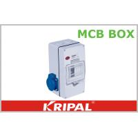 China Compact 4 Pole MCB Distribution Box for Agriculture / Construction Sites wholesale