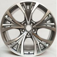 China Car Rim 21 For BMW M4 / Gun Metal Machined  Customized 21inch Forged Aluminum Alloy Wheel Rims wholesale