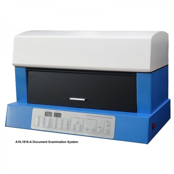 Quality A18.1816-A Document Examination Analyzer / Document Examination Equipment With Halogen Lamp UVC UVA for sale