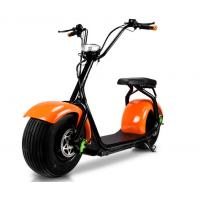 China Off Road 2 Wheel All Terrain Mobility Scooter With Big Tires , High Power Citycoco Electric Scooter wholesale