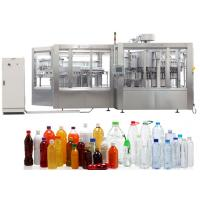 Buy cheap Stainless Steel Pure Water / Carbonated Beverage Filling Machine For PET Bottle from wholesalers