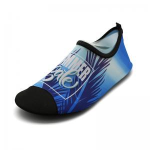 China Soft Mens Neoprene Water Shoes Beach Aqua Swimming Pool Footwear Anti - Wear wholesale