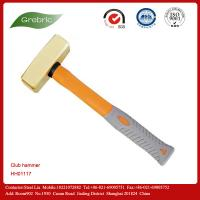 China Non-sparking brass hammer sledge hammer Al-Cu Be-Cu material on sale