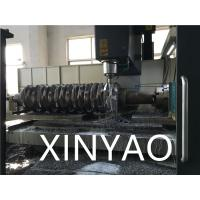 China Single Shaft Plastic Bottle Crusher Machine , Industrial Paper Shredder Machine on sale