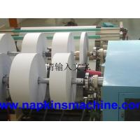 China Automatic Roll Slitting Machine Paper Rewinder With Seamless Aluminum Roller wholesale