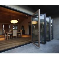 China weather stripping glass interior folding doors,Aluminium Bi Transparent Partition Soundproof Insulated wholesale