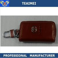 China Multifunctional Toyota Key Chain Wallet , Genuine Leather Key Holder Pouch wholesale