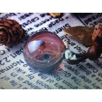 China Color Glass Star Pendant Decorative Glass Craft Small Round Ball With Rope wholesale