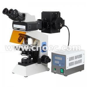 China Trinocular / Binocular Fluorescence Microscope For Laboratory A16.0906 wholesale
