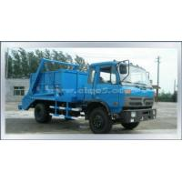 Dongfeng153 Swing Arm Garbage Truck