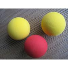China Colorful  Bouncy  EVA Foam  Ball / Polythene Foam Stress Balls wholesale