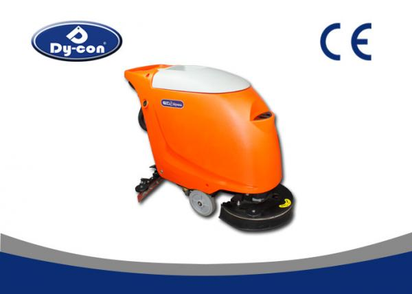 Quality 550W Suction Motor Hand Held Floor Scrubber Machine Linetex Rubble Blade for sale