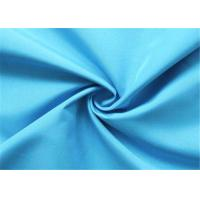 China Navy Blue Polyester Lining Fabric Pongee Comfortable Hand Feel Shrink - Resistant wholesale
