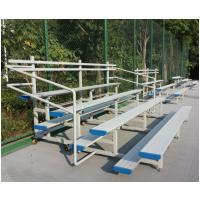 China Recyclable Temporary Portable Indoor Bleachers , Classic Aluminum Stadium Bleachers wholesale