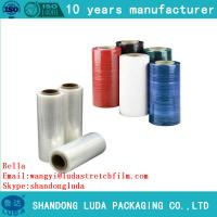 China Clear Plastic PE Stretch Film for pallet wraping luggage wrapping with good price wholesale