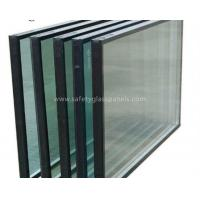 China Heat Insulating Sealed Glass Window Units With Sealant , Euro Bronze on sale