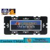 China 760Pcs Professional Custom Design Die Stamp Iron Material Shiny Gold Plating Epoxy Poker Chip Set Manufacturer wholesale