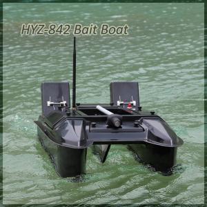 China Catamaran Bait Boat 4 pcs Bunkers remote control Bait Boat on sale