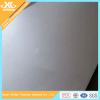 China Gr1 ASTM B265 Titanium Sheets Price Per Kg on sale