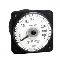 China 80 * 80mm Round Type AC InsulationResistance Meter With Relay Alarm on sale