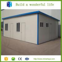 China prefabricated steel framed expandable folding flat pack container house prices wholesale