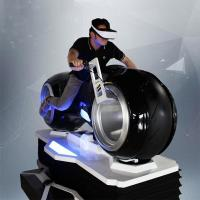 Quality 1 Person Online Race 9D Vr Driving Motorcycle Racing Car Simulator Game Machine for sale