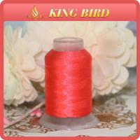 China Red Customized Polyester Embroidery Machine Threads Waterproof wholesale