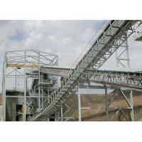 China Mining Industry Belt Conveyor Structure / Prefabricated Steel Structures Anti Seismic wholesale