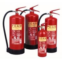 China 4 - 12 Litre Red Fire Extinguisher , Foam Type Fire Extinguisher With Foot Ring on sale