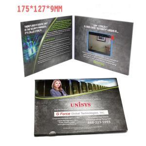 China 2.4 Inch TFT LCD Video Invitation Cards , JPG / JPEG Photo Format Custom Video Brochure on sale