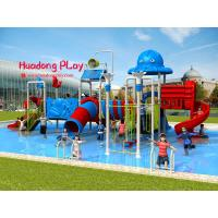China Fashionable Water Park Playground Equipment Stainless Screws Anti - Static For Kids wholesale