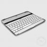 China Custom Made 10 Inch 82 Keys Sliver Mobile Bluetooth Keyboard For iPad2 wholesale
